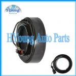 HALLA HS15 HS16 HS17 HS18 KIA HYUNDAI Auto air conditioning compressor clutch coil, size: 101(OD)*66(ID)*63,8(MHD)*35,5(H)MM