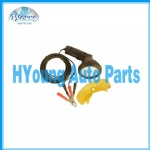 Vehicle a/c service tools, hook up to the car battery
