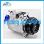 7SBU16C CSV717 auto air conditioning compressor for BMW X5 air pump / ac compressor