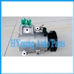 High quality HS15 Auto parts A/C COMPRESSOR for hyundai accent II 97701-17000 97701-25200