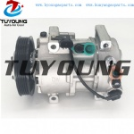 PN#977011R900 P30013-4111 DVE12 auto air conditioning compressor for Hyundai Accent 1.5L 2014 5PK 117MM