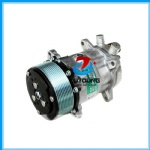 AC Compressor Sanden 5H14 SD508 10PK 12V/24V o-ring fitting vertical big and small hole