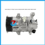 Automotive air conditioning compressor fit 5SE12C Toyota OE 88310-02400  88310-42250 88310-42260 7PK 110mm