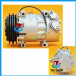 SANDEN SD7H15 Car Air conditioning compressor fit SCANIA trucks 24V 4 seasons 67185 68185 1376999 1412264 SD7981 SD7848 SD8068