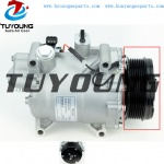 compressor clutch fit Honda CRV 07-11 38800RZYA010M2 SANDEN TRSE07 107mm 7PK