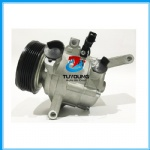 Automotive air conditioning compressor for Mazda 2 3DM with 3 bolt 6PK 12V