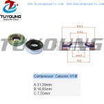 Calsonic V5 III auto air conditioning oil shaft seal