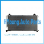 Auto air ac Condenser For Honda CR-V 2002-2006, Honda Element 2003-2010