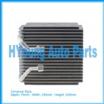 Automotive air conditioning evaporator Universal Style Evaporator (Seltec-Type) 75(Depth)*235(Width)*225(Height)mm