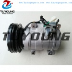 Auto A/C compressor denso 10s17c for Cat320 Cat320C Cat320D Caterpillar Excavator 447220-3846 1761895 2316984 2473002800