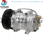 SD7H15 Car ac Compressor Caterpillar Challenger Claas 7963460 1780782 295-3367 133MM PV8 12V
