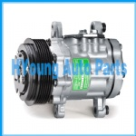 car air compressor fit Universal Sanden 7176 SD7176 Pv6 112mm Suzuki, Opel Corsa, Fiat VOLKSWAGEN Caterpillar 7176