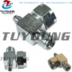 SANDS adapter fitting 90 ° ORING 1 '' -> M8 vehicle ac compressor