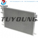 Size 610*405*25.4 mm auto air conditioner condenser fit Audi A4 A4 Quattro 8E0260403D 8E0260401D