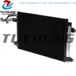 Size 584*401*16 mm auto air conditioner condenser fit Audi A3 TT Volkswagen Golf Jetta Rabbit 1K0820411Q 11932551