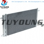 Size 331*575*16 mm auto air conditioner condenser fit VW Polo Seat Audi A1 6R0820411A 6R0820411D 6R0820411G