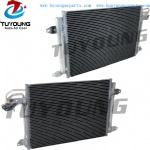 auto air condenser fit VW Volkswagen Jetta Golf Rabbit Audi 1K0-820411Q Core size: 58* 39* 1.6 CM