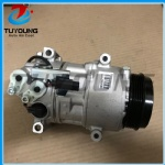 auto ac compressor for 6SEU16C Mercedes Benz A-Class W169 A160 5pk 105mm