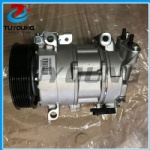 auto ac compressor for 6SEL16C Citroen DS4DS5 Peugeot 30085008 6PK 124MM