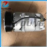 auto ac compressor for VS16 6PK 116mm FORD C-MAX 1.8  FOCUS II 1.6 (4M5H19D629AC)