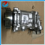 SD7C16 auto air con ac compressor for Citroen peugeot 120 mm 6pk 12v