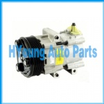 Halla FS10 Auto a/c Air Conditioner Compressor fit Ford Transit 4 CYL 2.4TD 2000-2006 129mm 7PV VERTICAL PAD