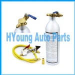 auto Air Conditioner System Flush Canister Gun Kit R134 R12 R22 R410 R404