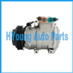 China factory supply Air Conditioning Compressor for Kia Grand Carnival  977014E611 C09-9607G Replaces 10PA17C 119mm 6PV 12V
