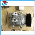 automotive air conditioning compressor for Toyota Hilux KUN16R & KUN26R 2001-2006 10S11C 7PK 125MM 12V  CO 11326C  88320-0K080 2021810AM