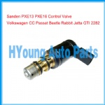 Produced in China, top A quality, Control Valve Denso Sanden PXE13 PXE16 A/C Compressor Volkswagen Control Valve CC Passat Beetle Rabbit Jetta GTI 2282