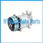 A/C Compressor for  SANDEN 5H14 6626 SANDEN,6626-5H14 12V 132mm 2-A, R134a VERT O-RING 5H14