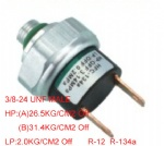 Auto air a/c pressure switch 3/8-24unf ,R-12  R-134a Universal car