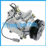High quality TRS090 AC Compressor for Car Honda Civic 1.6L 1996-2000 CR-V 2.0L 1997- 2001 CO3057AC 38810-P28-A02 80351S5DA01 38810P76006