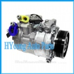 high quality AUTO AC COMPRESSOR FOR bmw E65(7SrieoM54Eng 01- E60(520i525i530i(M54Eng OEM#6452-6-917-860/64526901783 Type#7SEU17C 4PK 110m/m