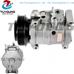high quality 10S17C AC Compressor For Car Chrysler Voyager 2.5L 2000-2002 5005421AC 5005421AD 5005421AB 447220-5870 447220-5872 447180-7520