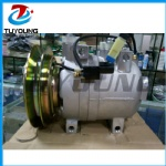 DKV14C AUTO air A/C compressor for Hitachi Hyundai 506021-7082 5060217082 11N892040 A5000674001 24V 102mm 1PK